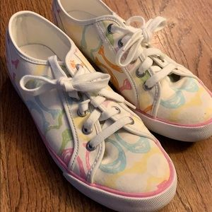 Rainbow Coach shoes 🌈